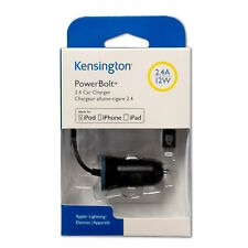 Kensington Car Charger PowerBolt K38028WW 2.4A, 12W, für iPhone 5, SE, 6, 6S, 7