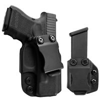 IWB Kydex Holster & Mag Pouch Combo fits Glock 26, 27, 33 - Concealed Carry