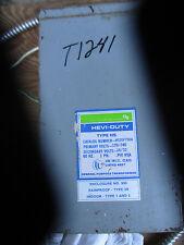 Hevi Duty .750 KVA 120/240x16/32 Volt Transformer- T1241
