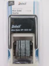 Deskmate Self Inking Mini Date Stamp 3mm Rp1822d3