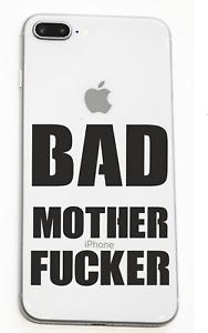 Bad Mother Fu*ker Smart Phone Decal Sticker Pulp Fiction