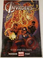 2014 Marvel Comics All-New Invaders Gods And Soldiers Graphic Novel