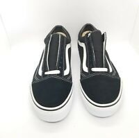 Vans Old Skool Skate Shoe Black, White Size Men's 7