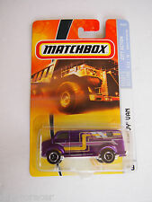 2007 MATCHBOX PURPLE CHEVY VAN #49, CITY ACTION, Ready For Action