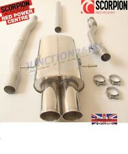MINI COOPER S R56 TURBO 2007 2008 2009  SCARICO CENTRALE e DOWNPIPE  SCORPION