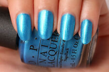 New! Opi Nail Polish Lacquer Teal The Cows Come Home