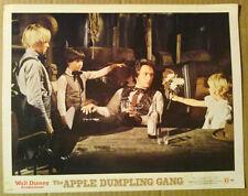 Lobby Card~Disney's Apple Dumpling Gang~1975~Bill Bixby~Brad Savage~Clay O'Brien