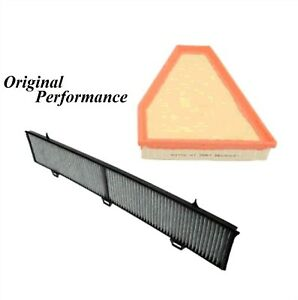 ENGINE AIR & CABIN AIR FILTERS FIT BMW 128i 08-13/328i 07-13/328i xDrive 09-13