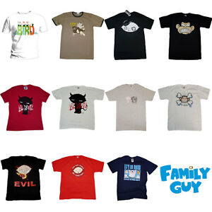 Family Guy OFFICIAL T-Shirts Peter Griffin Stewie Evil Monkey Gift Funny