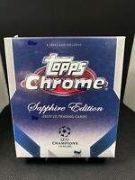 2019-20 Topps Chrome Sapphire UEFA Champions League - Pick Your Cards