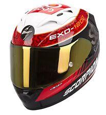 Kleidung, Helme und Schutz für Motorrad in Rot