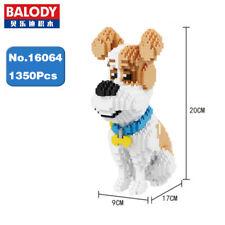 Balody Jack Russell Terrier Pet Dog Sit Diamond Mini Building Nano Blocks Toy