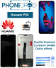 Écran complet LCD + vitre tactile Huawei P20 + Outils offerts, stock FR