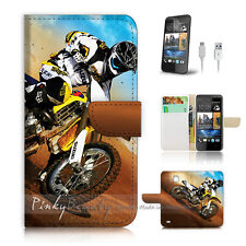 ( For HTC Desire 310 ) Case Cover! Motocycle Bike P0043