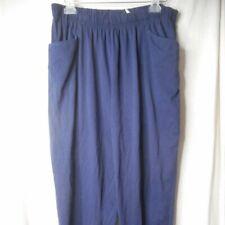 Navy Blue Size 1X Knit pants elastic waist