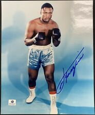 Joe Frazier Heavyweight Champion Signed 8x10 Photo Autographed GA COA