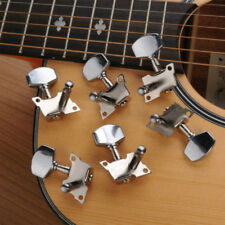6x Chrome Guitar String Tuning Pegs Tuners Machine Heads Acoustic Electric Part