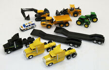 Lot of (11) various John Deere and Volvo Equipment etc.  toys 1/64