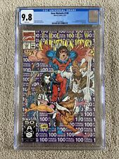 1991 New Mutants #100 CGC 9.8 White Pages 1st Appearance Of X-Force Last Issue