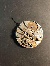 Antique Illinois 12s Pocket Watch Movement Parts out of Estate