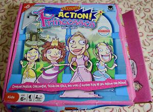 Dicecapades! Action! Princesses Board Game Replacement Parts Pieces 2009
