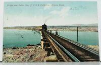 CA Bridge Over Salton Sea S.P.R.R. California Arizona Route 1909 Postcard E15