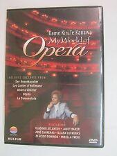 KULTUR - My World of Opera: Kiri Te Kanawa (DVD, 2006)
