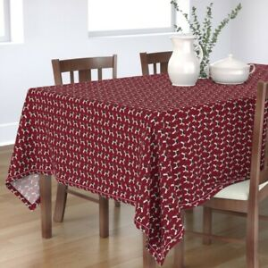 Tablecloth Wire Fox Terrier Dog Breed Dogs Pet Portrait Cotton Sateen