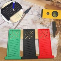 Woodworking Ruler 3D Mitre Angle Measuring Gauge Square Size Measure Tool US Hot