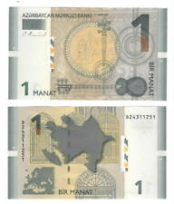 AZERBAIJAN UNC 1 Manat Banknote (2009) P-31 Paper Money