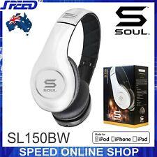 SOUL SL150BW by Ludacris Pro Hi-Definition On-Ear Headphones - White