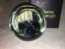 20th C Caithness Engraved Studio Angel Fish Paperweight Ltd 1003 / 1500 C1978
