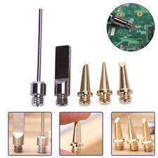 5Pcs*HS-1115K 5in1 Pro Butane Gas Soldering Iron Welding Kit Torch Pen Tool New