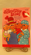 36 Berenstain Bears Valentine Cards Classroom Exchange VTG 1991 Gibson Greeting