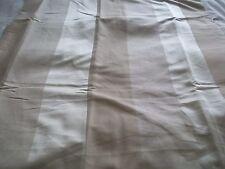 "Shades of cream stripe lined curtains ring top 66"" x 72"" BNIB"