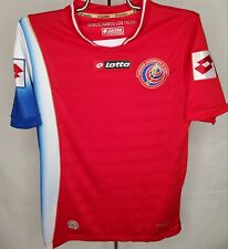 2013 Lotto Costa Rica National Team Mens Soccer Jersey Men's Small