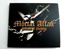 Mortal Affair Steam Of Nothing CD 2003 Made in Greece Brand New