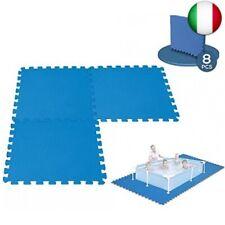 Tappetino da pavimento modulabile per piscina, 50 cm x 50 cm