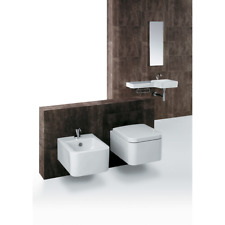 Sanitari sospesi  Wc FL63 + Bidet FL64 + Sedile soft close FL28 Simas Flow