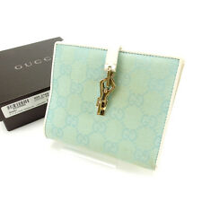 Auth GUCCI W Hook Wallet GG Canvas Women''s used J6224