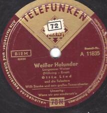 Gitta Lind mit Orchester Willi Stanke : Weisser Holunder