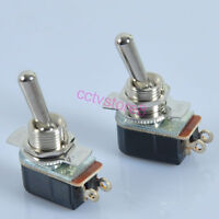 2pcs Toggle Switch SPST ON-OFF For Guitar Tube Amp Power Standby Audio HIFI