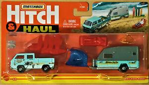 2021 MATCHBOX HITCH N HAUL - #4/8 WAVE RIDER inc VOLKSWAGEN TRANSPORTER CAB.