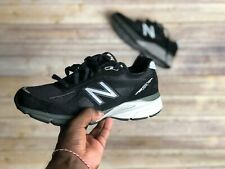 New Balance Made In USA Mens 990v4 Running Shoes Kith Black Size 9 M990BK4