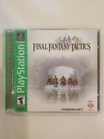 Final Fantasy Tactics (Sony PlayStation 1 PS1) Greatest Hits COMPLETE FREE S/H