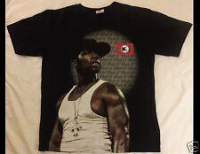 50 CENT G Unit Size XL Black T-Shirt