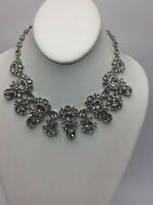 $250  Givenchy  silver tone  statement necklace 759 GN