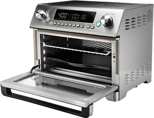Instant - OmniPlus 11-in-1 Toaster Oven and Air Fryer - Silver/Stainless Steel