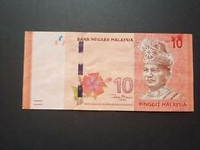 RM10 Ink smear ZB replacement Error Banknote