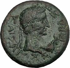 Augustus Capricorn before & Rhoemetalkes  Thrace King Ancient Roman Coin i50082